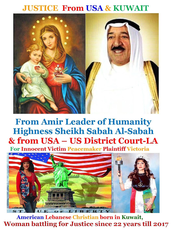 JusticeForVictoriafromUSA&Kuwait2017